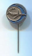 INEX POTOVALNA AGENCIJA / TRAVEL AGENCY, Slovenija, Vintage Pin Badge, Abzeichen - Aerei