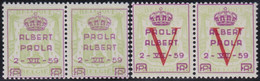 Belgie  .   OBP  .   PR 129/132        .   **   .      Postfris   .    /  .   Neuf SANS Charniére - Unused Stamps
