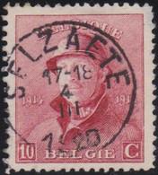 Belgie  .   OBP  .    168 .   Selzaete      .    O   .      Gebruikt  .    /  .   Oblitéré - 1919-1920 Trench Helmet