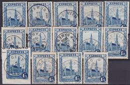 Belgie  .   OBP  .    292C   14 Zegels    .   O   .      Gebruikt  .    /  .   Oblitéré - Used Stamps