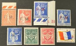 Timbre De Francise N° 6 à 13  Neuf ** Gomme D'Origine  TTB - Franchise Stamps
