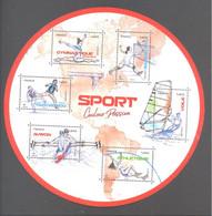 France Bloc Oblitéré (Sport Couleur Passion 2020) ( Cachet Rond) - Gebruikt