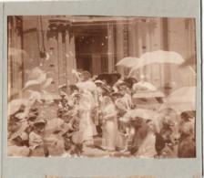 SURREALISME 1913 Photo SURREALISTE 8x11cm Collée Sur Carton DOUBLE EXPOSITION - Places