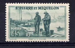 St PIERRE - N° 197* - PORT DE SAINT-PIERRE - Ungebraucht