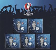 F 5050A  UEFA EURO2016 - TROPHEE / BALLON / - Nuovi