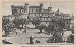 BRACCIANO - PIAZZA 3 NOVEMBRE E CASTELLO ODESCALCHI - Andere