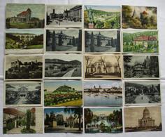 1000 Interessante Alte Ansichtskarten Um 1910-1940 (126229) - 500 Postkaarten Min.