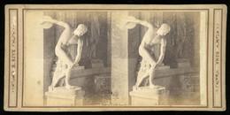 Stereoview - Discobolus / Statue - ITALY - Visionneuses Stéréoscopiques