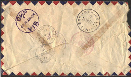 MONTENEGRO - CRNA GORA - VANCOUVER CANADA To VIR PAZAR - RECOM. AIRMAIL - 1946 - Montenegro