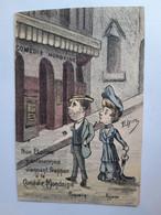 CPA - Illustration D'Elym, Nos étoiles Parisiennes Coquelin + Réjane, Comédie Mondaine, Non Voyagée, Env.1910 - Théâtre