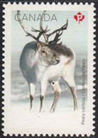 Canada 2021 MNH Sc #3278 (P) Peary Caribou Die Cut Ex Booklet - Neufs