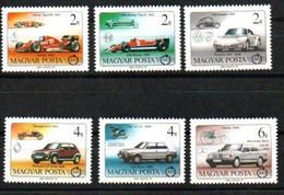 Ungarn 3828 - 3833 A  Mnh ** Auto Car Voiture Hungary Hongrie Magyarország - Neufs
