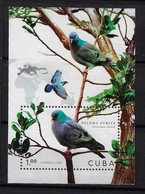 CUBA 2020. HB PALOMAS. MNH. PIGEONS - Nuevos