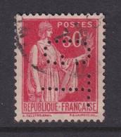 Perforé/perfin/lochung France No 283 GT Genestal Transport - Gezähnt (Perforiert/Gezähnt)