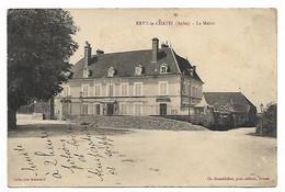 CPA ERVY LE CHATEL, LA MAIRIE, AUBE 10 - Ervy-le-Chatel