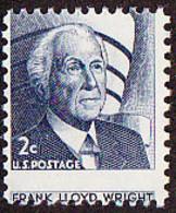 U.S.A. (1966) Frank Lloyd Wright. Guggenheim Museum. Misperforation Error. . Scott No 1280, Yvert No 794. - Variedades, Errores & Curiosidades
