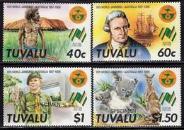 TUVALU (1988) Australia Jamboree. Set Of 4 Specimens. Scott Nos 460-3. - Tuvalu