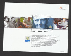 Portugal 2005 - 100 Years Rotary International S/S MNH - Unused Stamps