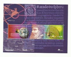 Portugal 2002 - 500 Years Pedro Nunes Birth S/S MNH - Unused Stamps