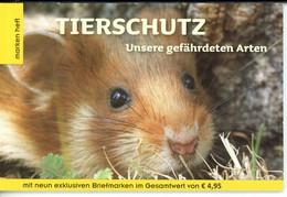 """Österreich Markenheft """"Tierschutz"""" Postfrisch MNH (O935 - 2011-2020 Neufs"""
