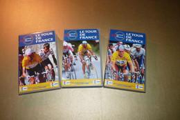 Cyclisme - Lot De 3 VHS Tour De France 1997, 1998, 1999. - Sports