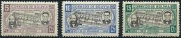 Bolivia 1946 - Mi 394/96 - YT 277/79 ( Creator Of The Anthem ) MNH** - Bolivien