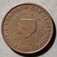 2000 - PAESI BASSI - MONETA IN EURO - DEL VALORE DI  5 CENTESIMI - CIRCOLATA - Niederlande