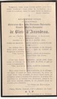 Adel, Noblesse,Ghislaine De Blois D'Arondau, Roucourt, Paris, 1915 - Images Religieuses