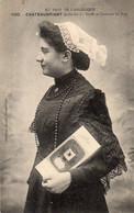 Cpa Au Pays De L'Angélique,Chateaubriant,Coiffe Et Costume Du Pays - Costumes