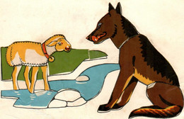 5THY 18 Mouton Et Loup. Fantaisie - Comicfiguren