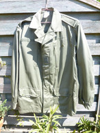 Veste De Treillis Dite Treillis Satin - Tailles 112 M - 33% Polyester 67% Coton- Biderman Uniformes - Excellent état - Other