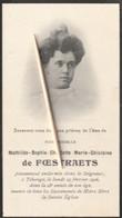 Adel, Noblesse, Tihange, 1906, Mathilde De Foestraets - Devotion Images