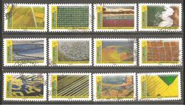 FRANCE 2021 Y T N ° 1??? Série Complète Oblitérée CACHET ROND Mosaïque De Paysages - Used Stamps
