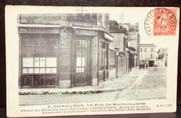 28 - CHARTRES : Restaurant A.CHAILLOUX Rue De Mainvilliers. - Chartres