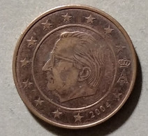 2004  -  BELGIO - MONETA IN EURO - DEL VALORE DI  2 CENTESIMI - CIRCOLATA - Belgien