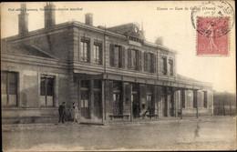 CPA Gisors Eure, La Gare - Andere Gemeenten