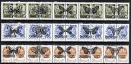 CHUVASHIA - 1992 - Butterflies O/p On 30 Russian - Perf 15v Set - Mint Never Hinged - Private Issue - Unclassified