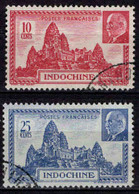Indochine  - 1941 -  Pétain -  N° 222/223- Oblit - Used - Usados
