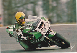 Jean Lafond Kawasaki 115 Circuit Bugatti 1982 - Moto