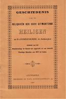 """St.Andrieskerk Antwerpen """"geschiedenis Relikwiën Der XXXVI Uitmuntende Heiligen - 1901 - - Imágenes Religiosas"""