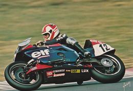 Christian Leliard Elfe Honda RSC  Circuit Bugatti 1982 - Moto