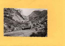 H0506 - DIGNE à BARREME - D04 - Clue De Chabrières - Train - Digne