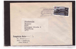 TEM13876  -  MAGDEBURG   /      COVER FRANKED WITH MICHEL Nr. 3203  EF - Lettres & Documents