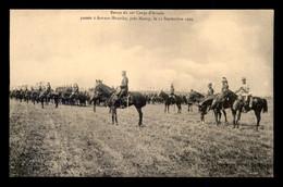 54 - ART-SUR-MEURTHE - REVUE DU 20E CORPS D'ARMEE LE 11 SEPTEMBRE 1909 - Other Municipalities