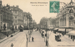 BIARRITZ : PLACE DE LA MAIRIE N°78 - Biarritz