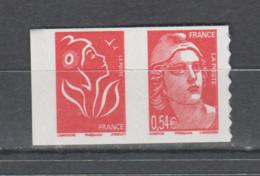 FRANCE / 2006 / Y&T N° 3977 ** + 3744**  Ou P3977 ** Ou P96 ** : Marianne De Gandon (adhésive) + TVP LP Lamouche X 1 - Sellos Autoadhesivos