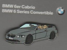 Pin's BMW Série 6 Cabrio En Zamac. - BMW