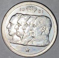 Belgium : 5 Silver Coins - Four Kings - 100 Fr - 1951 (4x) & 1954 (1x) - SILVER - 91g - Clean - TTB - 12 Pics - 09. 100 Francs
