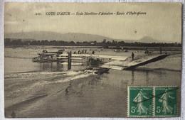Aviation -Côte D'Azur école Maritime D'aviation- Essai D'hydroplanes-43 - ....-1914: Precursores