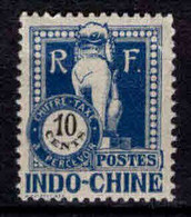 Indochine  - 1922 - Timbre Taxe N° 39  - Neuf * - MLH - Portomarken